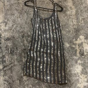 Haute Hippie XS sequins mini dress
